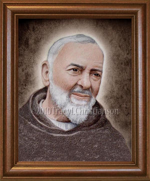 St. Padre Pio (A) Framed