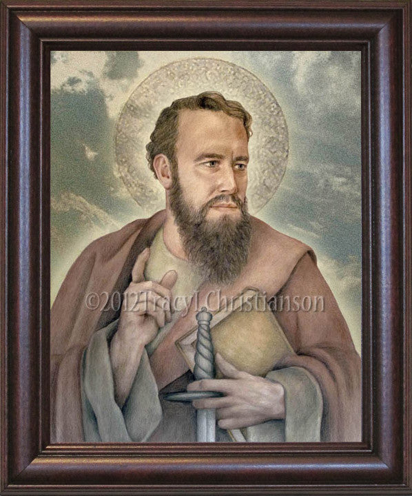 St. Paul the Apostle Framed