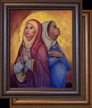 St. Perpetua and St. Felicity Framed