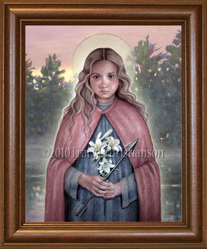 St. Philomena Framed