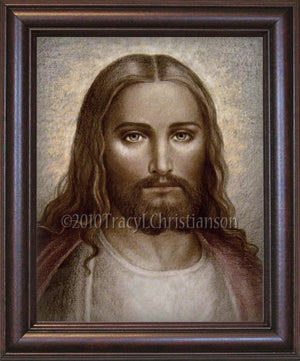 Face of Christ Framed