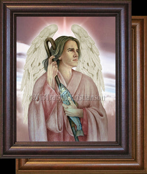 St. Raphael the Archangel Framed