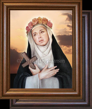 St. Rose of Lima Framed