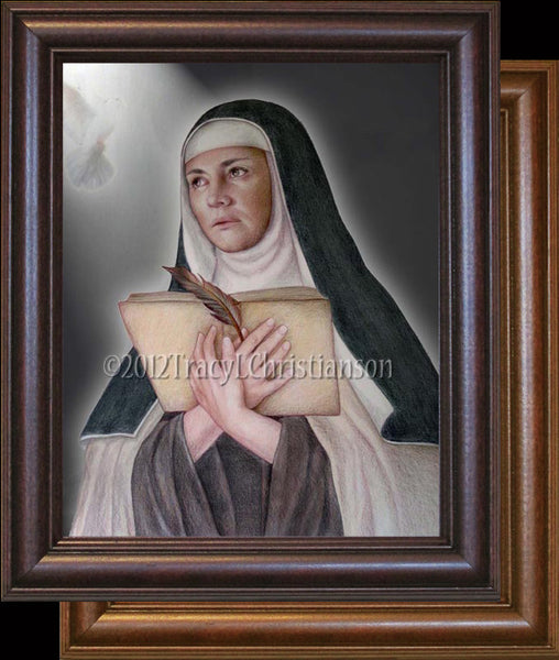 St. Teresa of Avila Framed