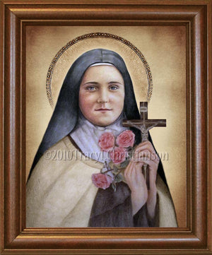 St. Therese of Lisieux (A) Framed