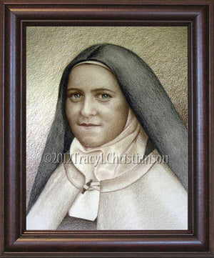 St. Therese of Lisieux (B) Framed