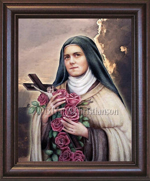 St. Therese of Lisieux (C) Framed