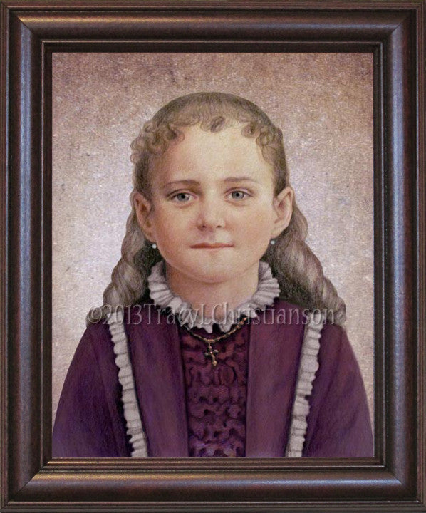 St. Therese of Lisieux, the Little Flower Framed