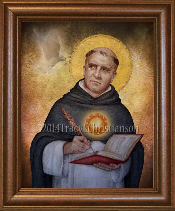 St. Thomas Aquinas Framed