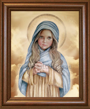 The Child Mary Framed