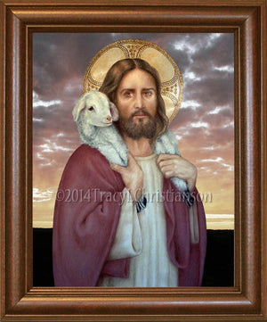 The Good Shepherd Framed
