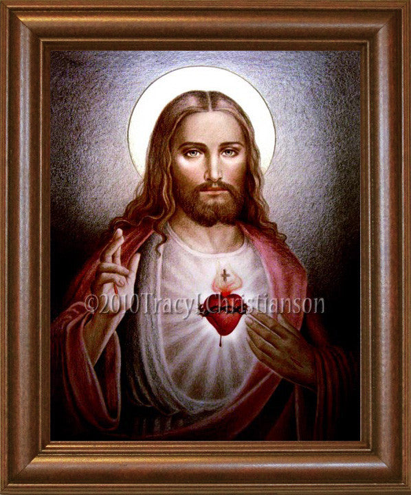 Sacred Heart of Jesus (C) Framed