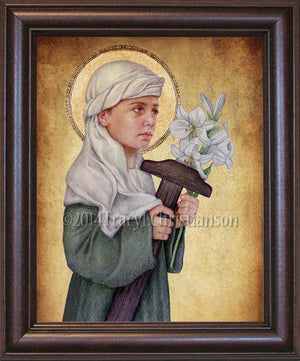 St. Joseph the Child Framed