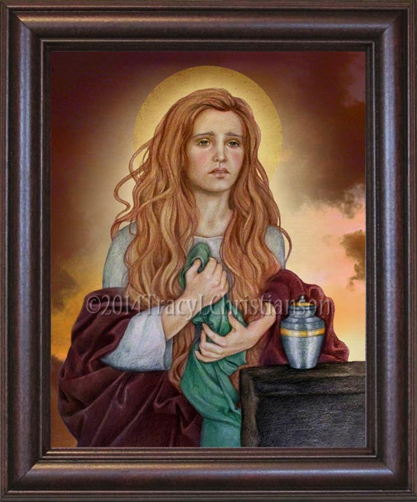 St. Mary Magdalene (B) Framed