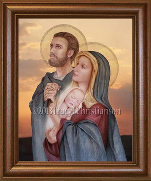 Holy Family (C) Framed