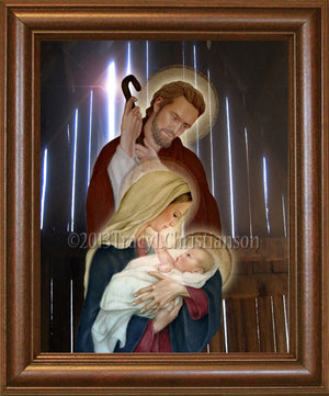 Holy Family (D) Framed