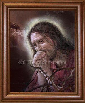 Agony of Jesus Framed