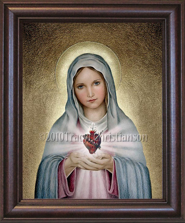 Immaculate Heart of Mary Framed