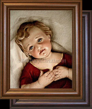 Infant Jesus Framed