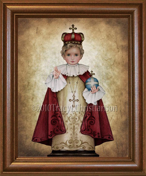 Infant of Prague Framed