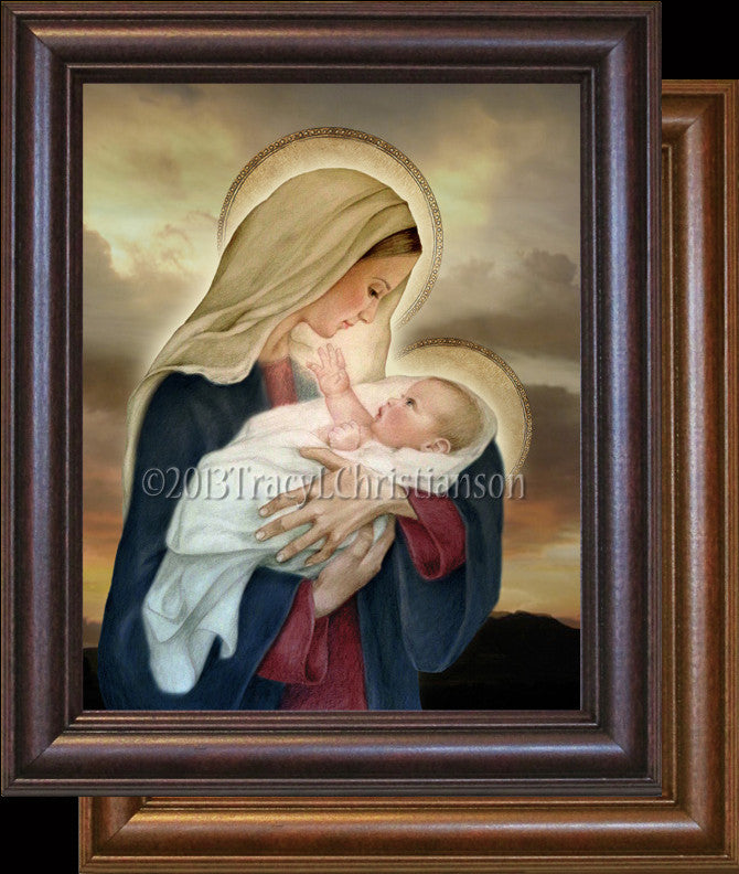 Madonna & Child (F) Framed