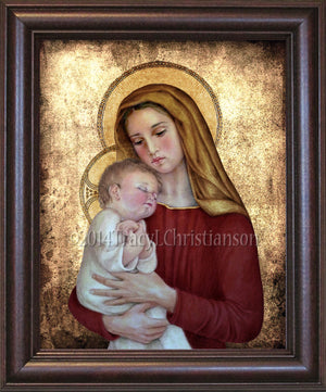 Madonna & Child (G) Framed