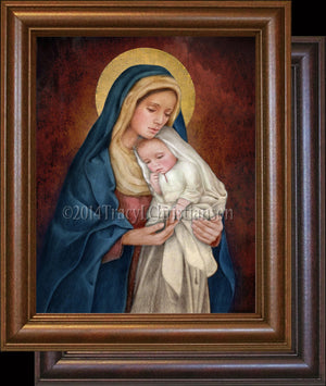 Madonna & Child (H) Framed