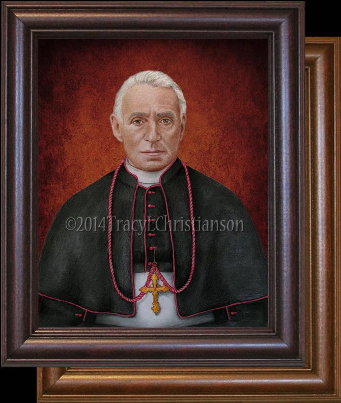 Bl. Giovanni Battista Scalabrini Framed