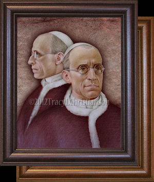 Pope Pius XII Framed