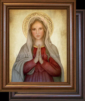 Mary, Mother of God Framed
