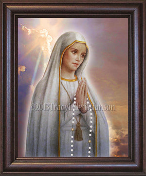 Our Lady of Fatima Framed