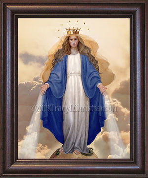 Our Lady of Grace Framed