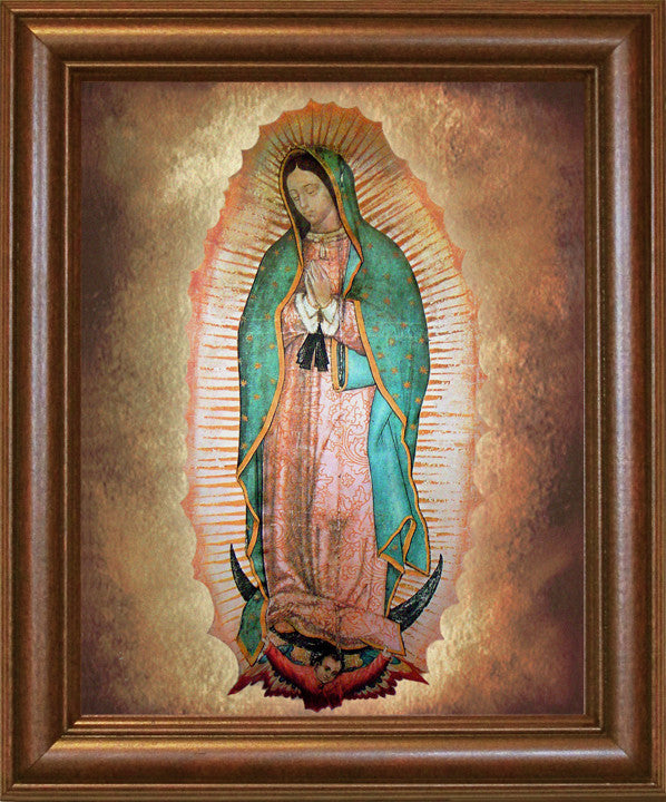 Our Lady Of Guadalupe Framed Portraits Of Saints