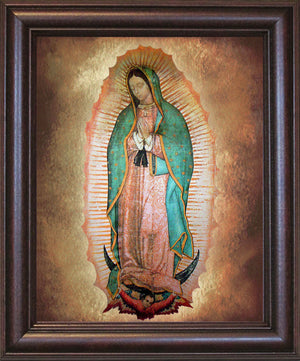 Our Lady of Guadalupe Framed