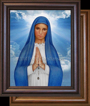 Our Lady of Kibeho Framed