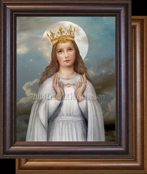 Our Lady Of Knock Framed Portraits Of Saints