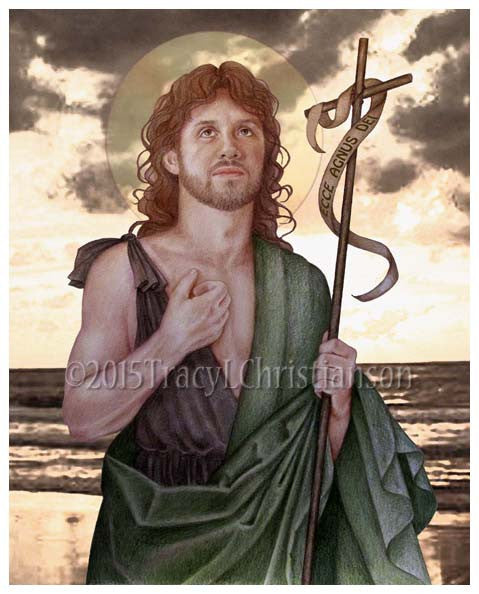 St. John the Baptist Print