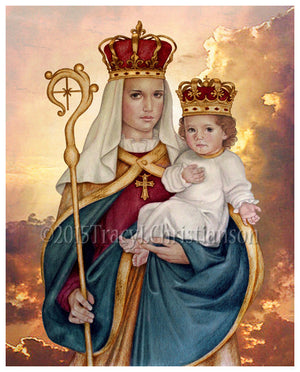 Our Lady of Good Success Print