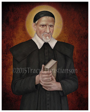 St. Vincent de Paul Print