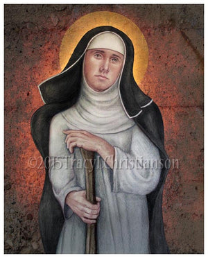 Bl. Margaret of Castello Print