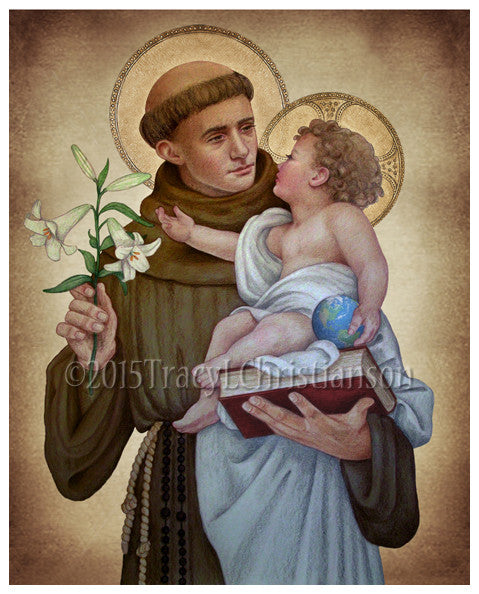 St. Anthony of Padua (B) Print