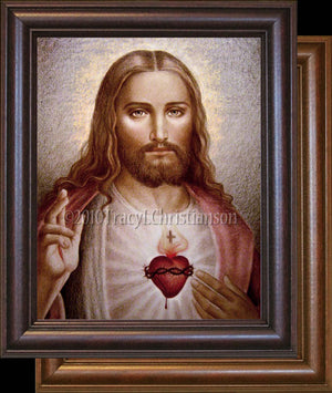 Sacred Heart of Jesus (C2) Framed