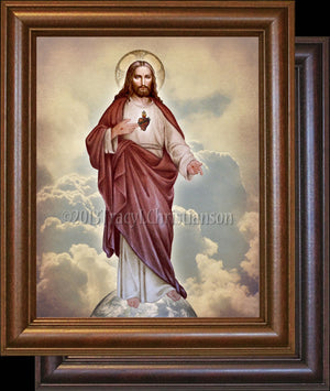 Sacred Heart (full-length) Framed