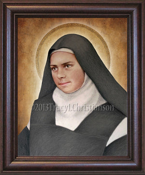 St. Elizabeth of the Trinity Framed