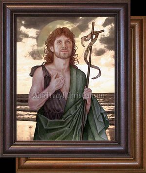 St. John the Baptist Framed