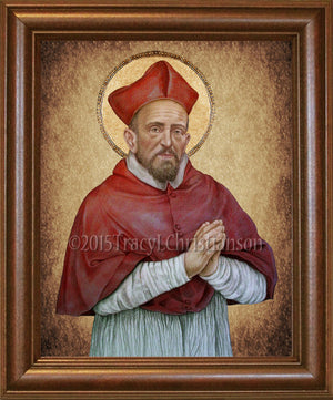 St. Robert Bellarmine Framed