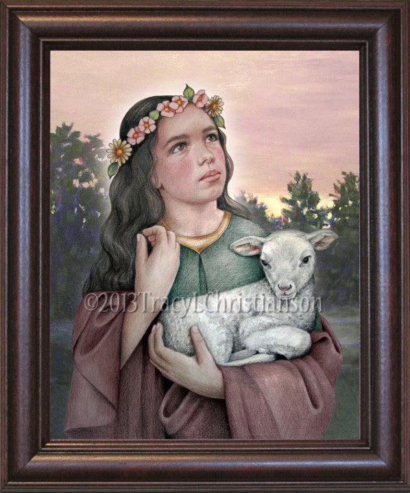 St. Agnes of Rome Framed