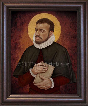St. Edmund Campion Framed
