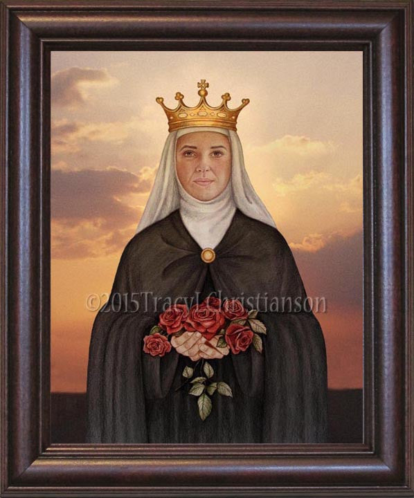 St. Elizabeth of Portugal Framed