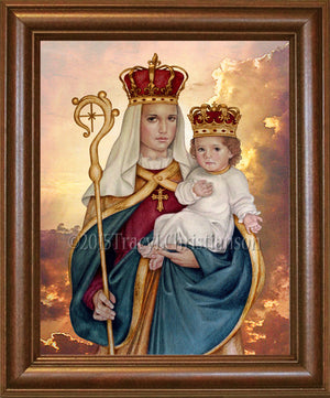 Our Lady of Good Success Framed